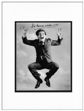 Norman Wisdom Autograph Signed Photo Display